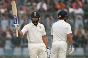 Rohit Sharma's fifty piles more misery on Sri Lanka in Delhi Test