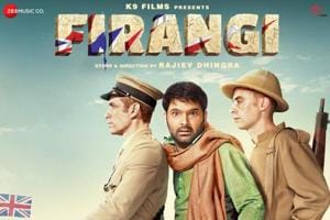 Kapil Sharma's Firangi in trouble, earns only Rs 2.10 cr on first day
