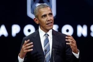 Barack Obama cites 'absence of American leadership' on climate issue...