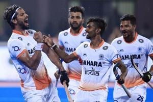 India lost 2-3 against England during the Men