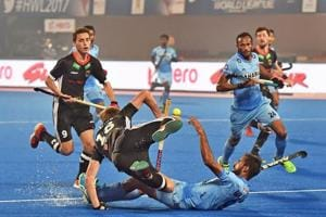 India fell 2-0 to Germany in Bhubaneswar on Tuesday and finished bottom of their Hockey World League final group as a result.