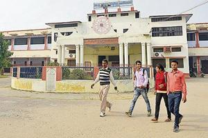 Students at Saket College in Ayodhya say they have dreams but lack exposure.