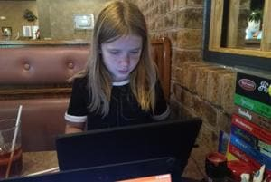Eleven-year-old Hilde Lysiak is a reporter and brings out her own paper called Orange Street News, in Pennsylvania, United States.
