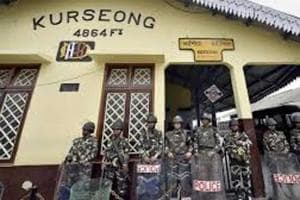 File picture. Like Darjeeling and Kalimpong, the small town of Kurseong suffered the 104-day shutdown in the north Bengal hills between mid-June and end-September.
