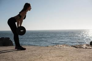 Female power! Study proves that women are naturally more fit than men