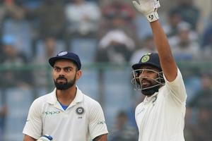 Virat Kohli, Rohit Sharma score half-centuries as India pile pressure...