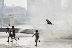 Photos: Cyclone Ockhi lashes Mumbai rains, Gujarat braces for landfall