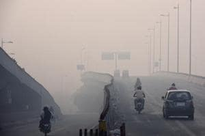 Delhi pollution: Air quality improves slightly, visibility poor due to...