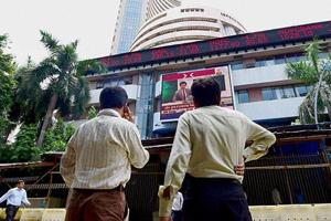 Sensex declines ahead of RBI's monetary policy decision