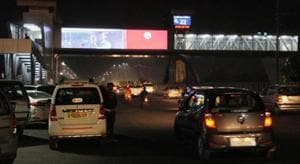The Lucknow Municipal Corporation (LMC) appears to have taken the lead in violating the road safety code as it allowed setting up of LCD screens on both sides of Lohia Path in Lucknow.