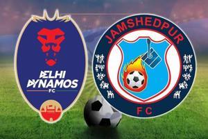 Live - Delhi Dynamos FC vs Jamshedpur FC, Indian Super League...