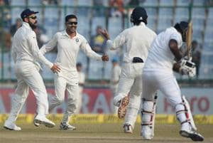 Ravindra Jadeja turns 29, birthday boy gifted with lucky wicket of...
