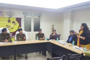 The programme was inaugurated by inspector general (Meerut)Ram Kumar and it was attended by SSP Love Kumar, SP (rural) Suniti and SP (crime) Preeti Bala, among other police officials.