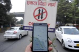 Officials said that besides traffic violations, those using the software for navigation also cause jams on the road.