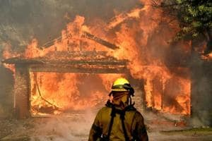 Photos: Hundreds of homes destroyed by out-of-control California...