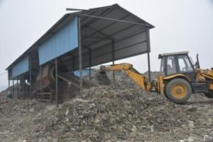 The municipal corporation is yet to make waste-to-manure plant in Pratap Vihar, Ghaziabad, operational.