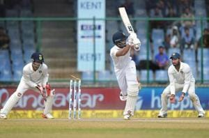 Sri Lanka defied Indian bowlers to hold on for a draw on Day 5 of the third and final Test in Delhi.