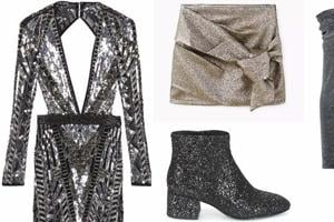 This New Year's everyone will wear metallic partywear: Gold or silver...