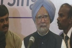 Manmohan attacks Modi over note ban and GST, says PM betrayed trust of...