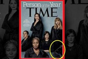 "The cover of Time magazine's annual ""Person of the Year"" issue unveiled on Wednesday packs a subtle yet powerful message."