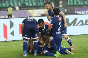 Jeje brace hands Chennaiyin FC 3-2 win over ATK in Indian Super League
