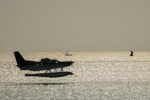 Mumbai seaplane will touchdown at sea tomorrow for the first time