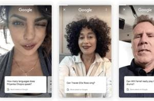 Google's new search feature: Celebrities' selfie videos to answer your...