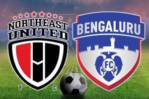 Live - ISL 2017-18, NorthEast United FC vs Bengaluru FC, football live...