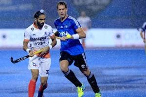 India lost 1-0 to Argentina in the semifinals of the Hockey World League Final in Bhubaneswar on Friday.