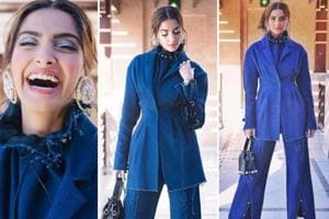 Sonam Kapoor's denim-on-denim look is to die for. See pictures