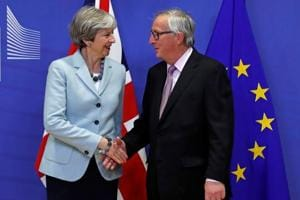 Reprieve for Theresa May as UK and EU agree principles of Brexit