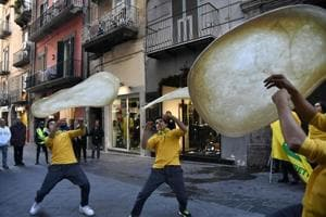 Naples rejoices as the art of Neopolitan pizza-making wins UNESCO...