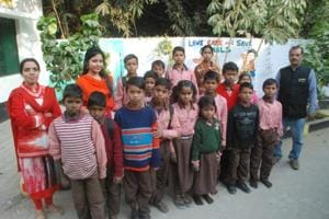 Posted in three government primary schools in the rural pockets of Varanasi, Puja Singh, Ritu Giri and Garima Pandey, have started using their language skills and big city exposure to educate children.