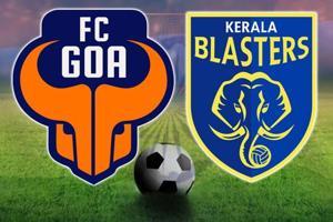 ISL 2017-18, FCGoa vs Kerala Blasters FC, live football score