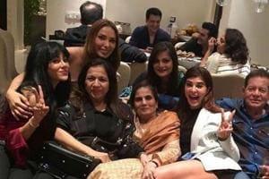 Salman Khan celebrates mother Salma's birthday with family. See pics