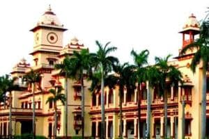 A file photo of the Banaras Hindu University. A professor said political parties were part of the MA first-year syllabus (Picture credit: IIT-BHU official website)