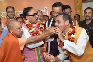UP: BJP reviews civic poll results, may reshuffle cabinet to reward...