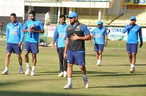 India toil hard in Dharamsala ahead of 1st ODI vs Sri Lanka