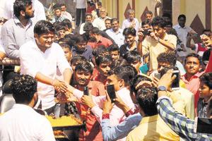 Hardik Patel is the leader of an ongoing  movement by the Patidar community demanding reservation in government jobs.