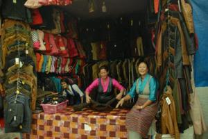 The exhibitors have been coming to Noida for the last 12 years to sell the clothes, which they claim to have procured from manufacturers based in different regions such as Himachal Pradesh, Uttarakhand, Nepal, Tibet and Ladakh.