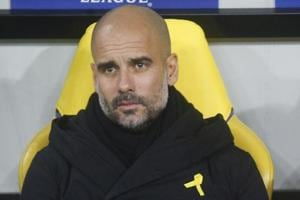 Manchester City manager Pep Guardiola has cautioned his side against...