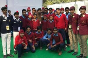 Param Vir Chakra winner urges Punjab village kids to join NCC