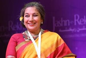 Shabana Azmi says while growing up, Urdu language was like music...