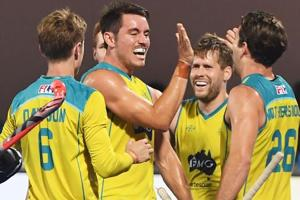 Defending champions Australia moved past a depleted German side 3-0 on...