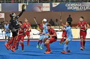 After losing to India in the Hockey World League Finals in Bhubaneswar, the Belgium men's hockey team were involved in a superstitious midnight escapade.