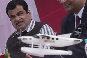 Make seaplanes in India, will make land available: Gadkari to Japanese...