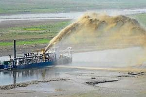 Big island formation in Ganga hits navigation, water supply to Silk...