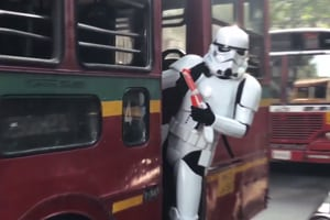 Star Wars The Last Jedi: Watch Stormtroopers invade India, play...