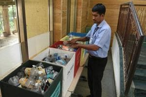 Students learn to cut pollution at Mumbai's Chandivali school, impart...