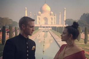 Aashka Goradia and husband Brent Goble share first post-wedding pic,...